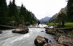 Multi-activités au Kirghizistan