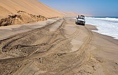 4x4 et bivouac en Namibie