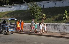 En basse saison, du Mekong à Vientiane