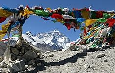 Kala Pattar et camp de base de l\'Everest