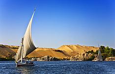 Croisière à voile en Dahabeya ou Sandal (Caire et Abou Simbel)