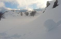 Traversée du plus haut plateau d\'altitude de Corse et Cuscionu en raquettes à neige