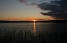 Sous le soleil de minuit en Laponie