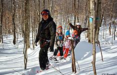 Un hiver en famille au Canada